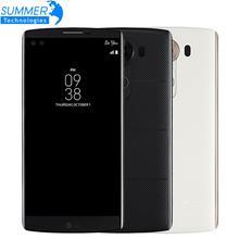 "Débloqué Original LG V10 Mobile Téléphone Hexa Core 5.7 ""4 K 4 GB RAM 64 GB ROM Android 5.1 16.0MP Caméra LTE 4G Smartphone"