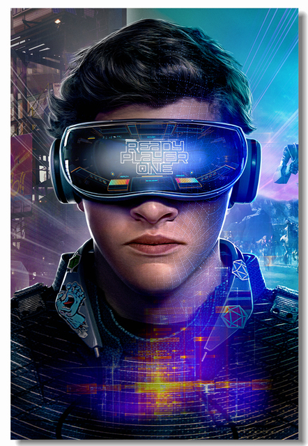 Custom Canvas Wall Mural Ready Player One Poster Ready Player One