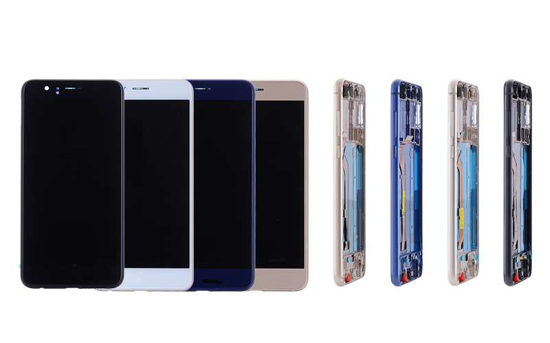 5.2 Original Display For Huawei Honor 8 LCD Touch Screen with Frame Replacement for HUAWEI Honor 8 Display LCD Honor8 Frd-L09 (2)