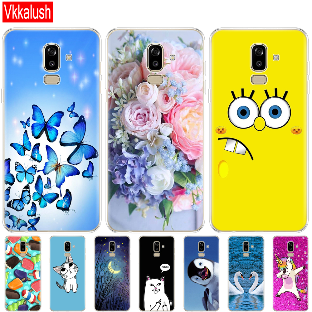 Case for Samsung Galaxy J8 2018 Case back Cover Silicon for Samsung Galaxy J8 2018 j810 Funda for Samsung J8 2018 Phone Case