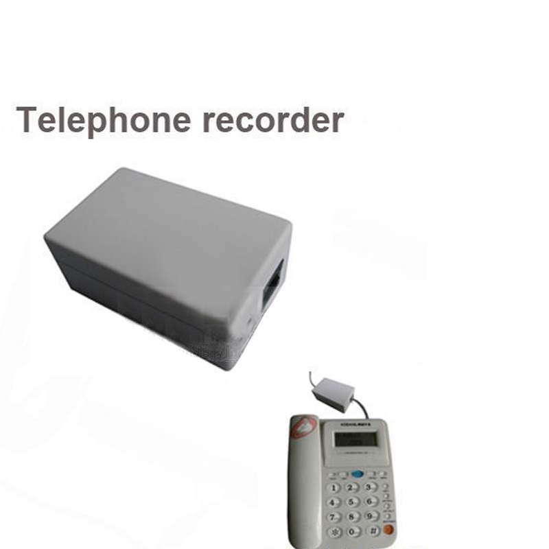 5pcs/lot,landline TELEPHONE monitor,save into micro SD card telephone recorder,voice recorder voice activated audio recorder