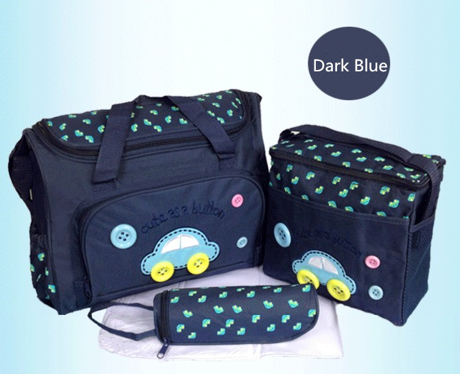 Promition! 3pcs Baby Stroller Bag Baby Diaper Bag for Stroller Thermal Insulation Nappy Bag Mummy Mother Diaper Bags