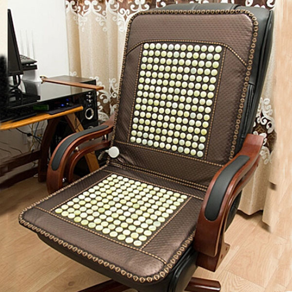 2016 Best Selling Jade Chairs Cover Cushion,Electronic Heating Jade Massage For Sale Free Shipping&Drop Shipping Support 2016 hot sale comfortable tourmaline massage chair cover heating jade massager cushion new 45cm 45cm free shipping