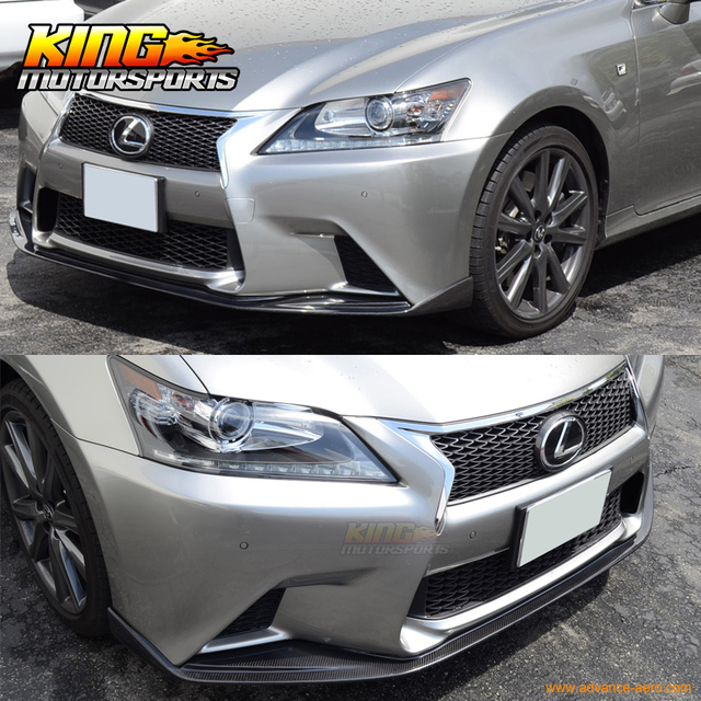 2014 Lexus Gs350: For 13 14 15 Lexus GS350 450 Sk Front Bumper Lip Spoiler