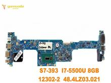 Original forACER S7-393 laptop motherboard S7-393 I7-5500U 8GB 12302-2 48.4LZ03.021 tested good free shipping