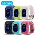 Mais novo Relógio Inteligente Bebê Q50 Segura Criança GPS Relógio de Pulso Chamada SOS Localizador Localizador Rastreador para Criança Anti Perdido Monitor de