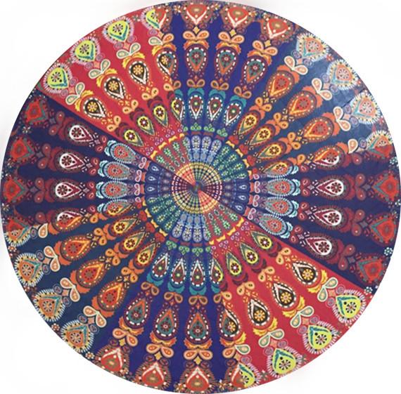 Letnia szyfonowa wall hanging tapestry koc ręcznik plażowy duży mediter flora miękkie narzuta yoga mat obrus home decor 10