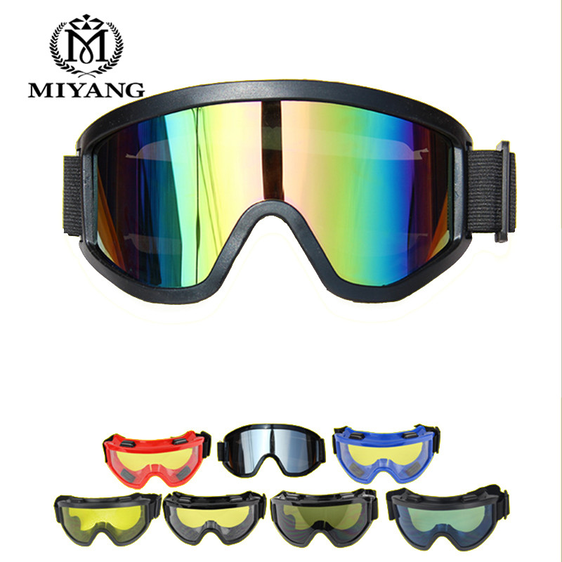 Motorcycle Cross Country Helmet Dustproof Sand Goggles Windproof Skiing Glasses Retro Goggles Outdoor Safety Goggles Eyewear122