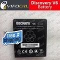 Descoberta V6 bateria 100% novo 2800 mAH Para Descoberta V6 + IP68 Telefone Inteligente + Número de Rastreamento-Em Estoque