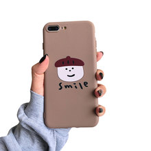 Case For iphone XS XR X MAX Soft Cute TPU Phone Cover 6 Plus 5 5s SE Cartoon Pumpkin Head Pattern