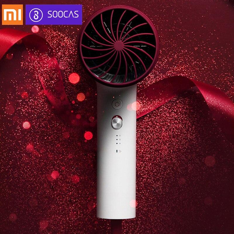 Xiaomi D'origine Soocare Soocas H3S Anion Sèche-Cheveux Corps En Alliage D'aluminium 1800 w Sortie D'air Anti-Chaude Innovante Détournement conception