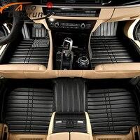 Custom Fitting Car Floor Mats For Chrysler 300C Car Feet Carpets Mat 3D Car Styling PVC