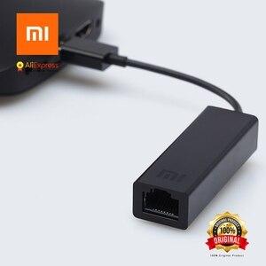 Image 5 - Original xiaomi USB zu RJ45 Externe Ethernet Karte lan Adapter 10/ 100Mbps für xiaomi TV BOX 3 Pro 3s Mac OS laptop PC Smart