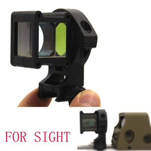 2018 innovate Tactical Corner Mirror Picatinny Mounts Command For RED GREEN DOT Sight scope hunting fit 551 552 553 558