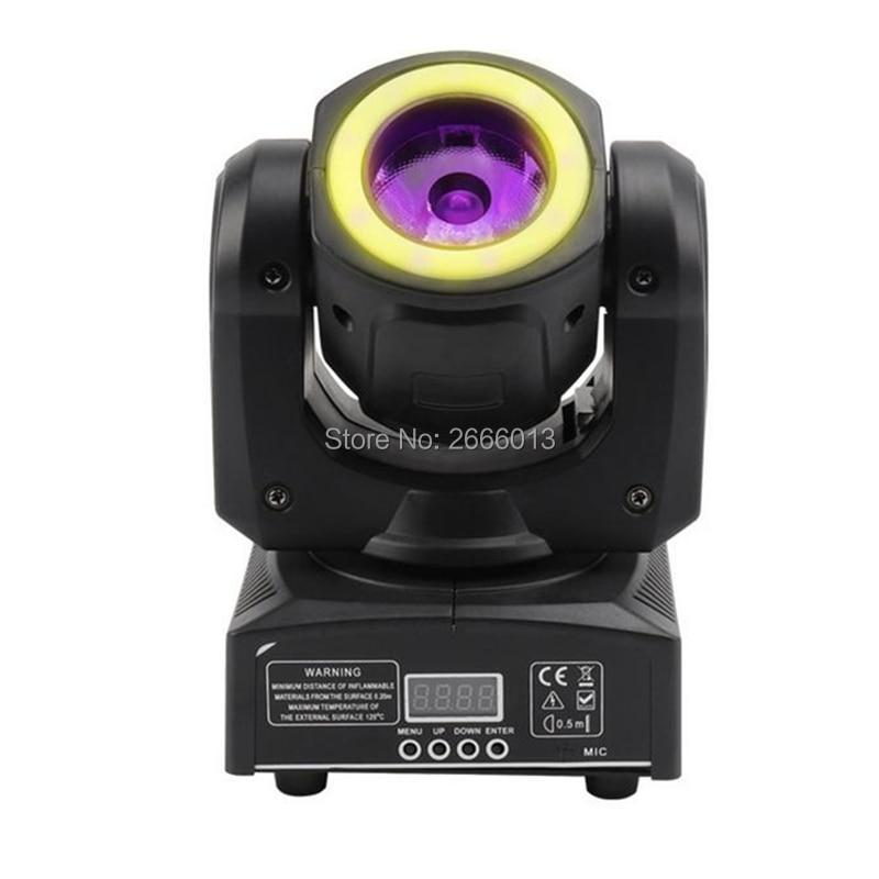 60 w RGBW 4IN1 Faisceau Avec RGB 3IN1 Bandes LED Wash Moving Head Light Pour La Fête De Mariage Événements/DJ disco DMX LED Spot Éclairage de Scène