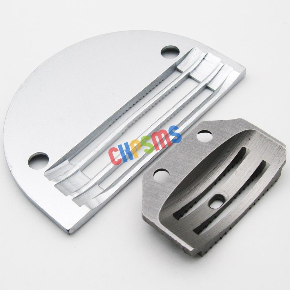 Fit for Juki DLN-415 Extra Heavy Aiguille Plaque /& Feed Chien Set
