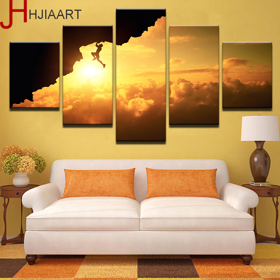 Hjiaart canvas prints wall art framework home decor 5 for Prints for home decor
