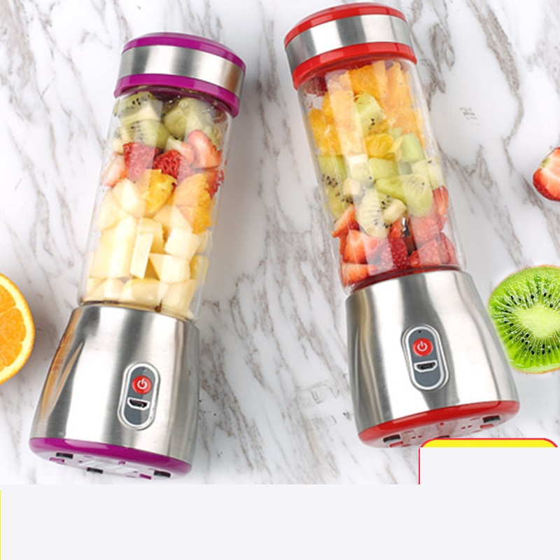 Portable USB Rechargeable Electric Juicer Machine Multifunctional Vegetable Fruit Juice Maker Mini Juicer Easy For Using