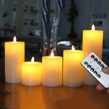 LED Candle Remote-Control-Wax Led-Night-Light Dancing-Flame Wedding Christmas-Decoration/home