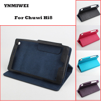 YNMIWEI For Chuwi Hi8 Tablet Protective Case Cover 8 0 Inches Leather Shell Shockproof For Chuwi