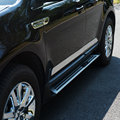 4pcs Stainless Steel Side Door Body Molding Streamer Cover Trims for Ford Edge 2011 2012 2013 2014