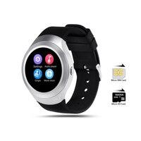 ZAOYIEXPORT L6 Bluetooth 4.0 Smartwatch Telefoon Ondersteuning Sim-kaart voor Android IOS Smartphone Handsfree Speaker Wrist Smart Horloge