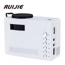 Original UNIC UC18 Mini Pico Tragbare 3D Projektor Unterstützung 1080 P video mit HDMI Tf-karte USB CVBS LED für heimkino Cinema