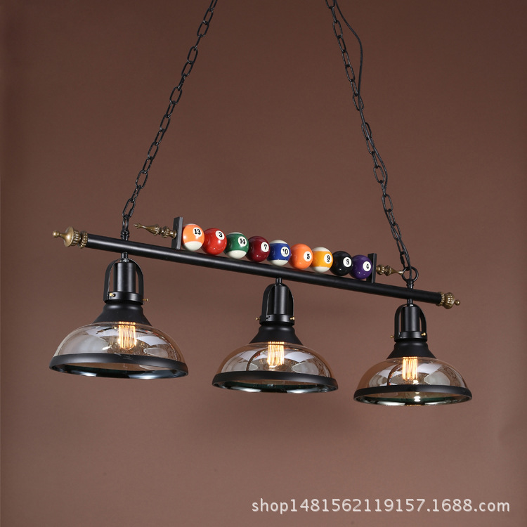 modern billiards iron pendant light glass iron dining room coffee shop bedroom restaurant hanging lighting modern children bedroom box cartoon people dog animal pendant light for dining room bedroom coffee bar hanging lighting