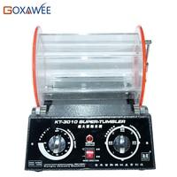 GOXAWEE 12kg Jewelry Grinding Polishing Machine Rotary Tumbler Polisher Mini Polishing Machine For Jewelry Tools Equipment