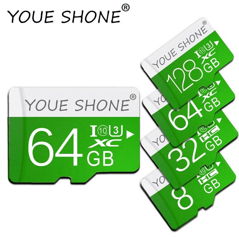 Класс скорости 10 Micro SD карта 128 Гб 64 Гб 32 Гб 16 Гб карта памяти 8 Гб флеш мини TF карты памяти UHS-I SDHC SDXC для смартфона