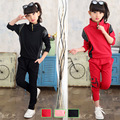 Girls Clothing Sets Children Sports Suits 5 Spring Cotton Girl Tracksuits 7 Autumn Full Sleeve Kids Active Wear 8 9 11 12