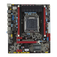 OEM 100% новый X79 3.5A C сервер/рабочего Материнская плата X79 LGA 2011 DDR3 для E5 2660 E5 2670 DDR3/ ECC все, материнская плата