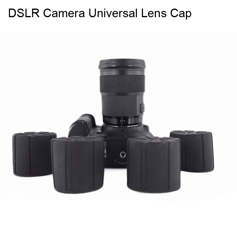 Universal Lens Cap for Camera lens Waterproof Lens Cover Protection Camera Cover for Canon Nikon Sony Olypums Fuji Lumix camera lens cover