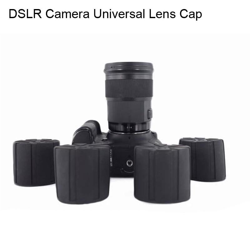 Universal Objektiv Kappe für Kamera objektiv Wasserdicht Objektiv Abdeckung Schutz Kamera Abdeckung für Canon Nikon Sony Olypums Fuji Lumix
