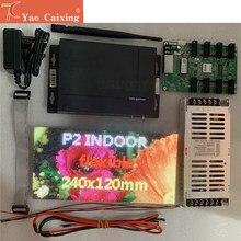 Novastar – module flexible TB2 + P2, carte de réception MRV328, alimentation électrique, livraison gratuite