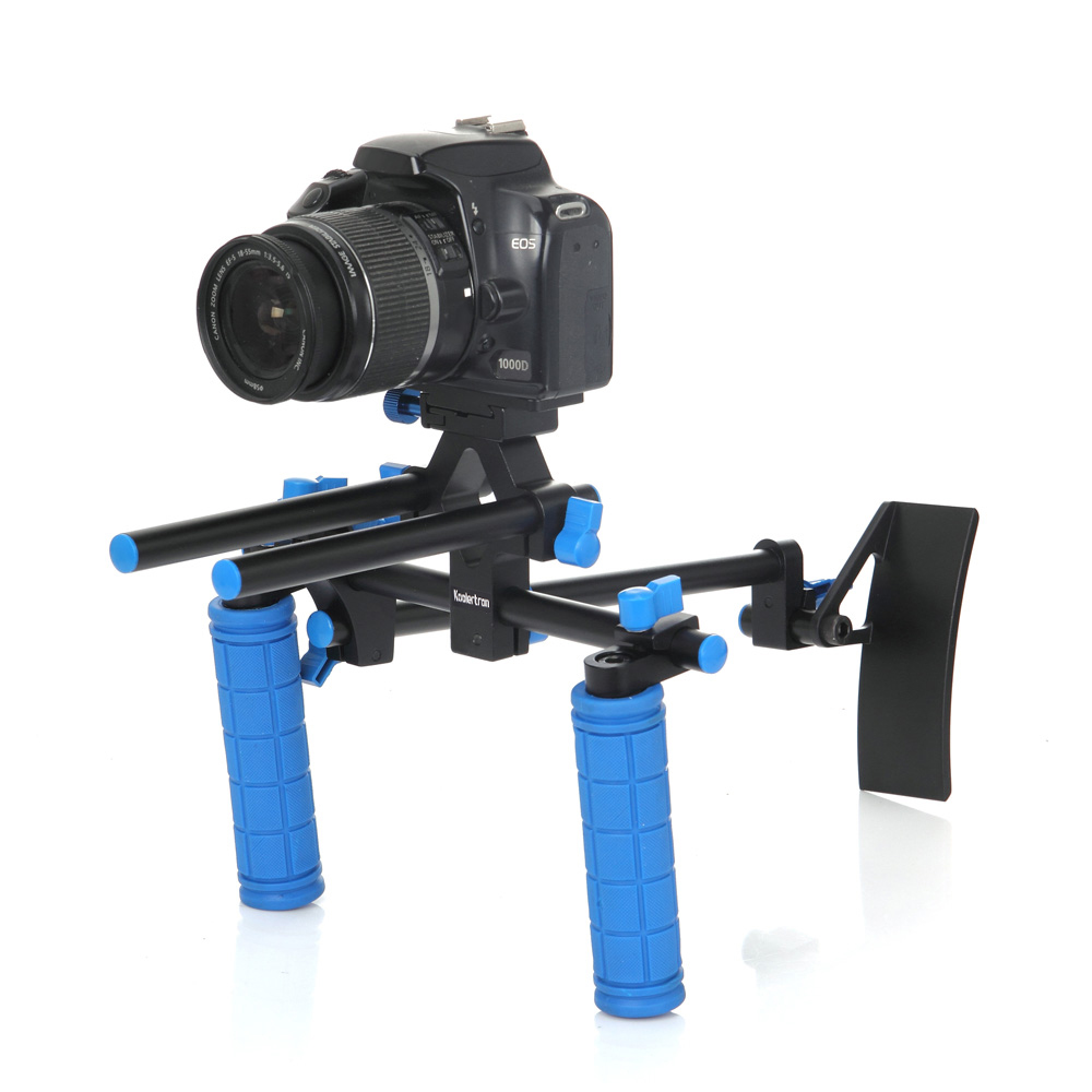 Handheld Stabilizer Rig Video Gimbal Hand Grips Steadicam Steady Stand for Canon 550D 500D 600D 1100D 60D,for Sony A57 A55 A35 afi vs 3sd handheld 3 axle brushless handheld steady gimbal stabilizer for canon 5d 6d 7d for sony for gh4 dslr q20185