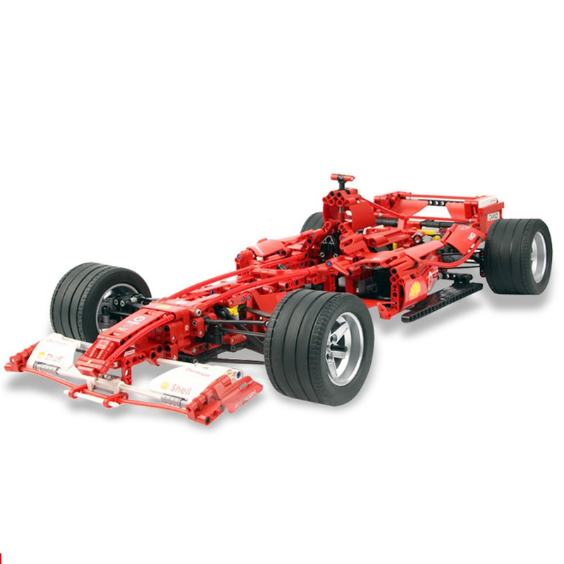 Decool Technic Formula Racing Car 1:8 Modello 3335 Building Blocks Imposta 1242 pcs Educativi Mattoni FAI DA TE Giocattoli Clone 8674-in Blocchi da Giocattoli e hobby su  Gruppo 1