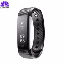 2017 Bluetooth ID115 HR умный Браслет монитор сердечного ритма фитнес-трекер Smart Band Водонепроницаемый smartband для iPhone Android IOS