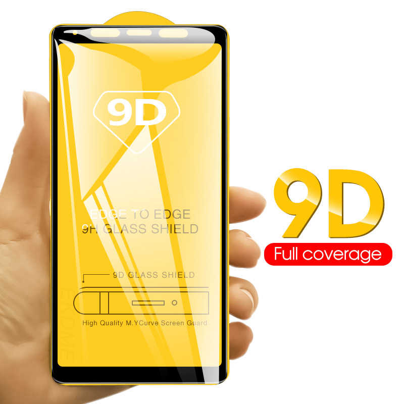 9D Screen Protector For Samsung Galaxy A50 A9 A7 2018 A10 M20 M30 M10 A30 A8 Plus Full Cover Tempered Glass Toughened Glass