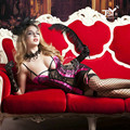 9781 2017 Women Sexy Lingerie Costumes Sexy Underwear Sets Erotic Lingerie Porn Babydoll Chemise Femme Sets with Gift Box