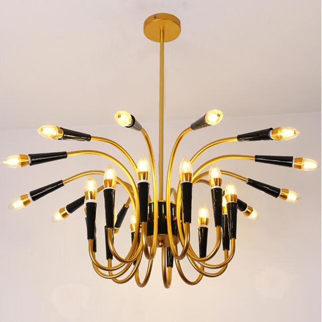 European Personality Creative Chandeliers Crystal Candle Chandelier Leved Bedroom Ceiling Modern Living Room Decoration Lighting