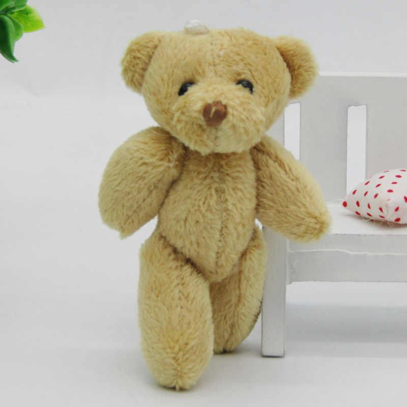 100 шт./лот Kawaii Малый совместное плюшевых мишек плюша 6 см игрушка Тедди-медведь, мини-медведь Тэд плюшевые медведи игрушечные лошадки коричневый подарки 01201