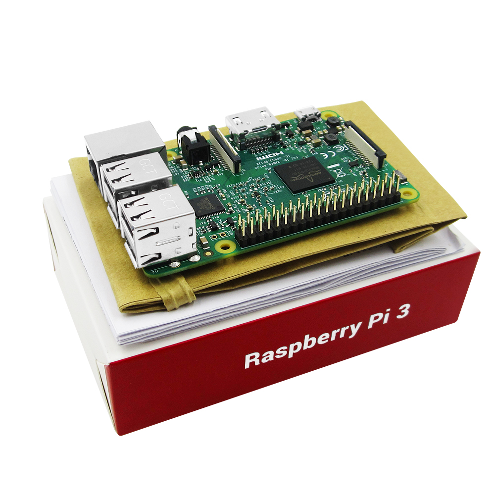 2016 New Element14 original Raspberry Pi 3 Model B Board 1GB LPDDR2 BCM2837 Quad-Core Ras PI3 B,PI 3B,PI 3 B with WiFi&Bluetooth raspberry pi 3 model b 1gb ram quad core 1 2ghz 64bit cpu wifi