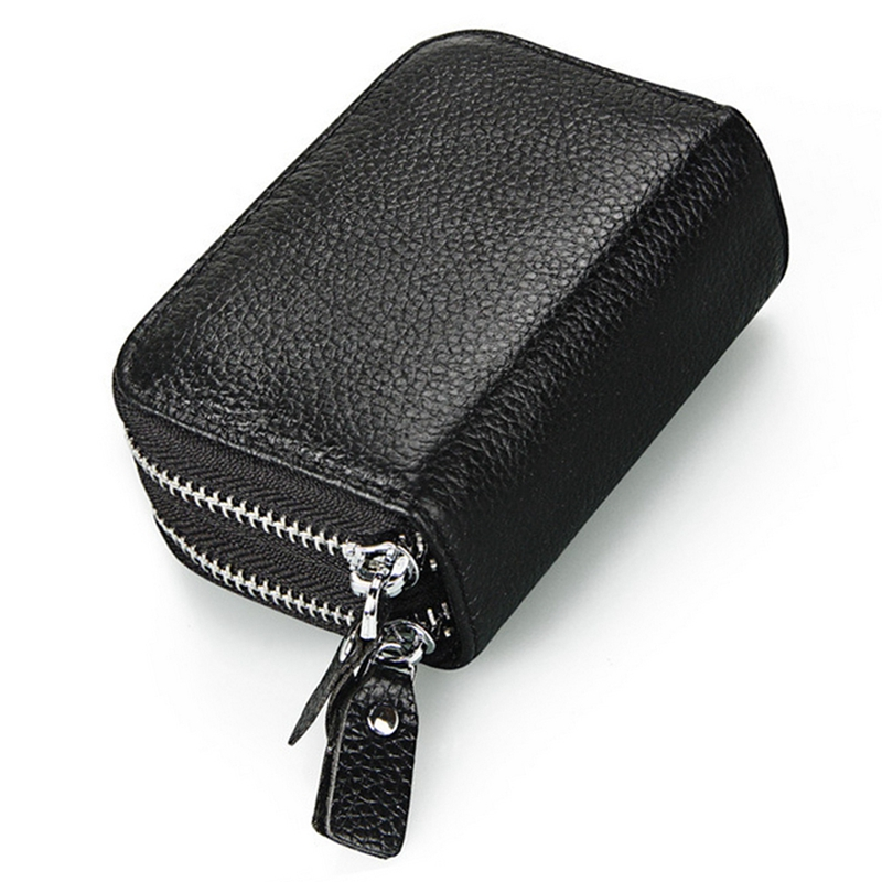 New Portable Female Casual Wallets Double Zipper Hangbags Lady Women Bags Clutch Long Purse Leather Card Holder Bags Purse
