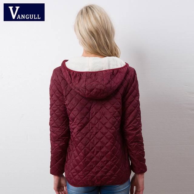 Winter plus velvet lamb hooded 4