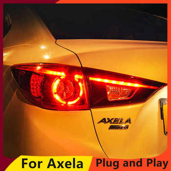KOWELL Car Styling for Mazda 3 Tail Lights 2015 Mazda3 Axela LED Tail Light Orignal Design LED Rear Lamp DRL+Brake+Park+Sign - DISCOUNT ITEM  20% OFF All Category