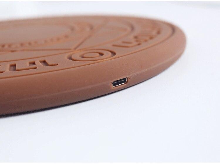 5 w/10 w Magia Matriz Carregador Sem Fio Universal Qi Sem Fio do Carregador Rápido Carregamento Pad para o iphone X 8 samsung Nota Xiaomi Huawei 6
