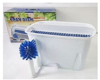 мини пластиковые бутылки   Мини-посудомоечная машина лучшая портативная ручная посудомоечная машина нож вилка тарелка чашка бутылка кухонные инструменты приборы дл...