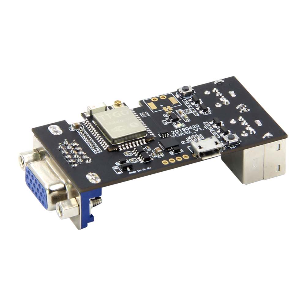 TTGO VGA32 V1.1 Controller PS/2 Mouse And Keyboard Controller Graphics Library Game Engine And ANSI/VT Terminal For The ESP32 jewellery