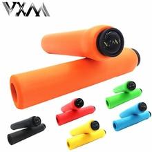 VXM font b Bicycle b font Handlebar Girps of High Density Silica Gel Foam Silicone Sponge